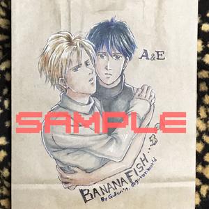 【BANANAFISH】手描き紙袋②