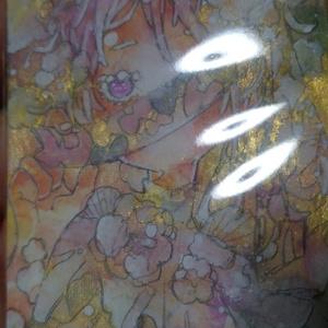 ATC原画「花の少女」