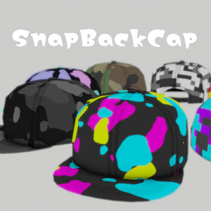 【3Dモデル】SnapBackCap