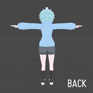 3Dモデル〝桔梗-KIKYOU-〟Ver1.3