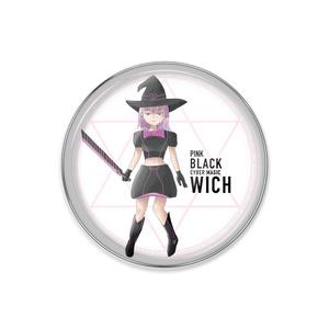 Pink Black Witch ピンクブラックウィッチ ピンバッジ