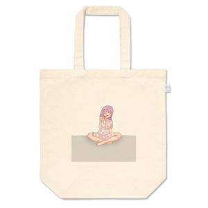 pinkBlackwich vacation ピンクブラックウィッチの休暇 トートバッグ