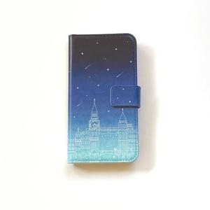 【iPhone/Android】星の街 手帳型スマホケース