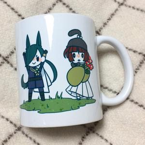 にか石マグカップ