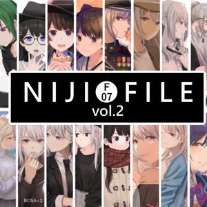【#にじそうさく02】NIJI FILE vol.2 にじさんじイラスト本