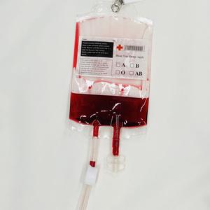 輸血パック キーホルダー