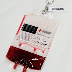 輸血チョーカー (ハートリング、ブラックベルト)
