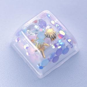 シャカシャカキーキャップ ~夢カワ~ Shaking keycap -Dreamy Cute edition-