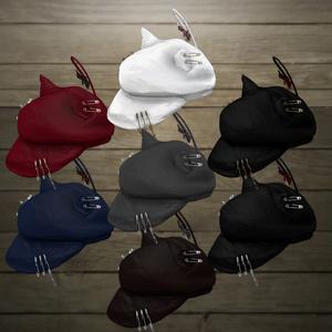 パンクな猫耳キャスケットv3(DynamicBone設定済み・テクスチャ差分7色)