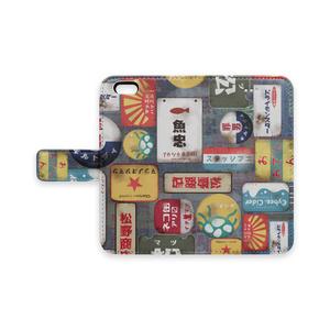 松のホーロー看板風iPhoneケース
