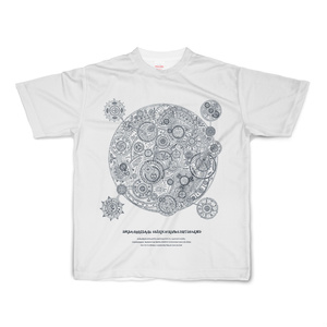Tシャツ(両面/正面) 魔法陣