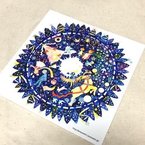 イラストカード(Christmas Wreath)