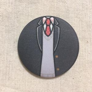 トリガー/鷹匠 衣装 布缶バッジ