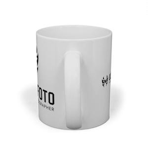 ULTIMOFOTOマスクロゴマグカップ