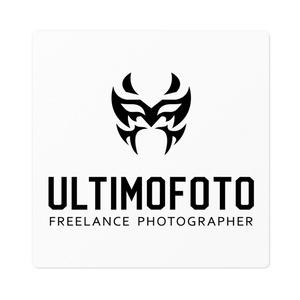 プロレスマスクデザインULTIMOFOTOロゴステッカー
