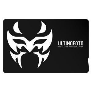 プロレスマスクデザイン ULTIMOFOTO ICカードステッカー
