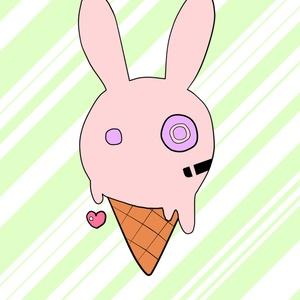 おねんねゆかりちゃん&アイスクリームロゴ缶バッチ