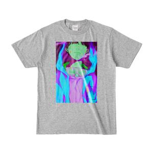 水色ネオンTシャツ