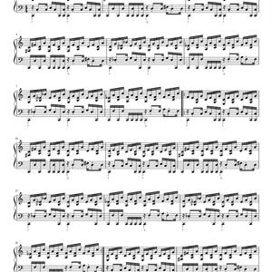 ダークキャッスル(マップ) 楽譜