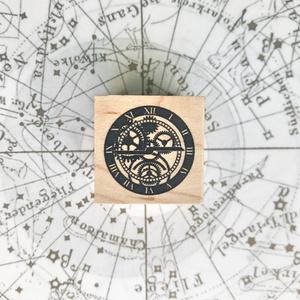 図像印 時計