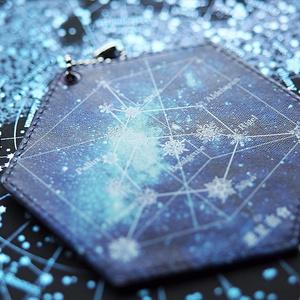 銀河を渡るパスケース 冬のダイヤモンド