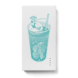 クリームソーダの海 モバイルバッテリー