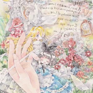 ポストカード「鏡の国のアリス・リデル」