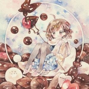 ポストカード「チョコレート・ドーム」