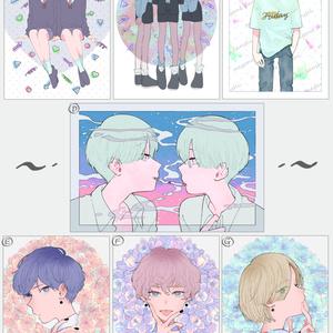 ◆ポストカード 全7種◆