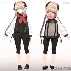 オリジナル3Dモデル「メリノ」