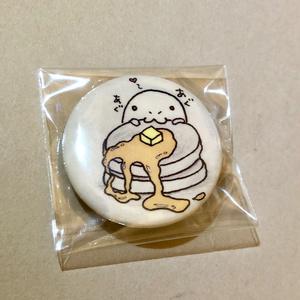 あべちゃん缶バッジ ホットケーキ