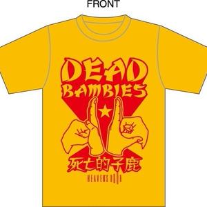 【ランダム缶バッジ付き】HEAVEN`S DOOR救済支援コラボTシャツ【デッドバンビーズ】