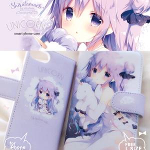 ユニコーンちゃんスマホケース(iPhone6/7/8用)