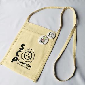SCPロゴ入りサコッシュ 2種(パチクマ・カイン)