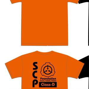 Dクラス職員Tシャツ オレンジ