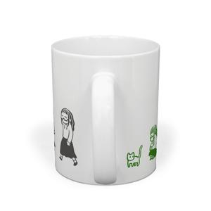 seriさんとネコチャンのマグカップ
