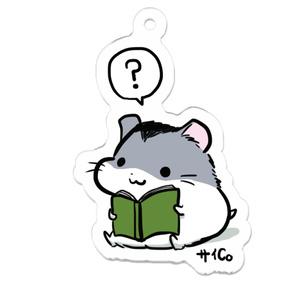 ハムアクキー「読書のハム」