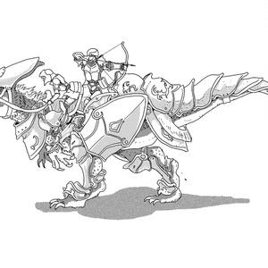 竜騎士とエヴァ