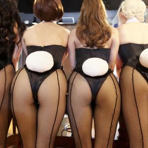 Quadruple Bunny in Casino(バニーガール)