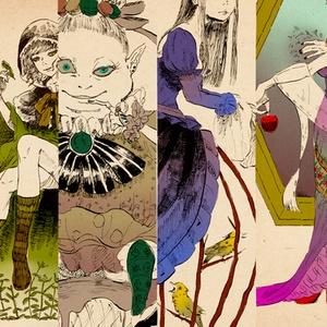 グリム童話の魔女イラスト集