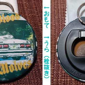 【ざ】マークII 「缶バッジ」+「丸形栓抜き」セット