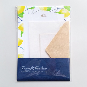 Lemon * Ribbon letter set