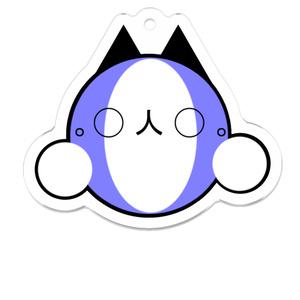 猫丸(アクリルキーホルダー)