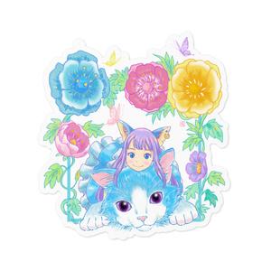 花と猫とアリス