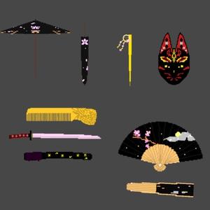 ボクセル和装セット7種