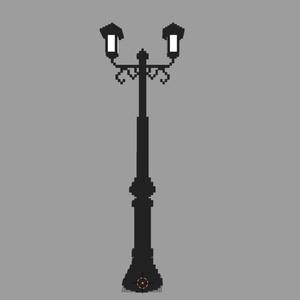ワールド設置推奨ボクセル2「街灯」