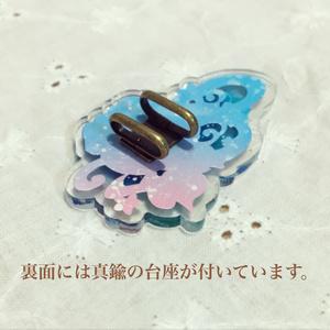 帯留め【糸巻き】ピンク/紫/水色