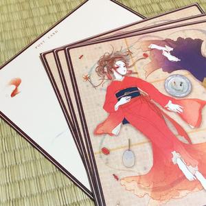 ポストカード【金魚のはこ】
