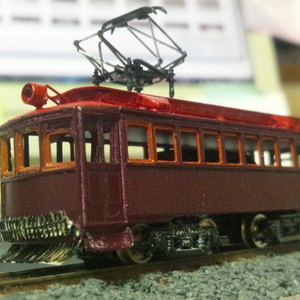 【Nゲージ 】大正時代の路面電車34形 車体枠キット