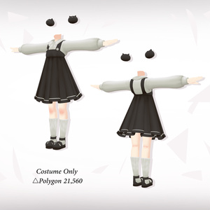[CAMELLIA-カミリア-] -jumper skirt-
